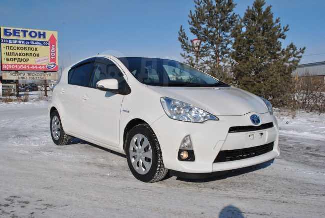 Toyota Aqua, 2014 год, 615 000 руб.