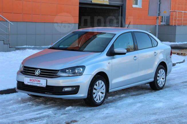 Volkswagen Polo, 2016 год, 498 000 руб.
