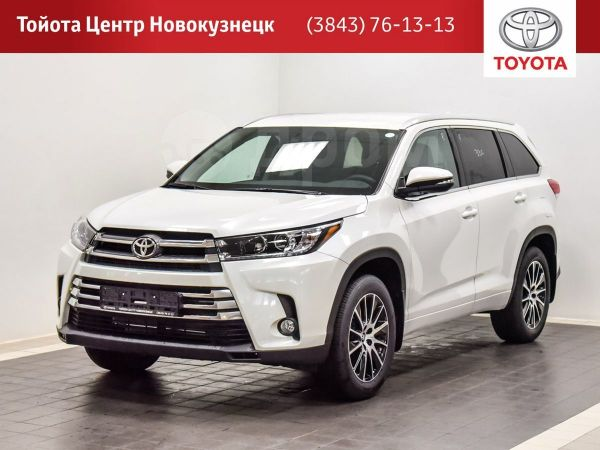 Toyota Highlander, 2019 год, 3 438 000 руб.