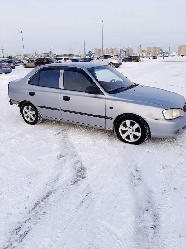 Hyundai Accent, 2008 год, 126 000 руб.