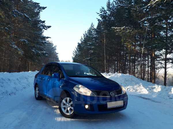 Nissan Tiida, 2007 год, 395 000 руб.