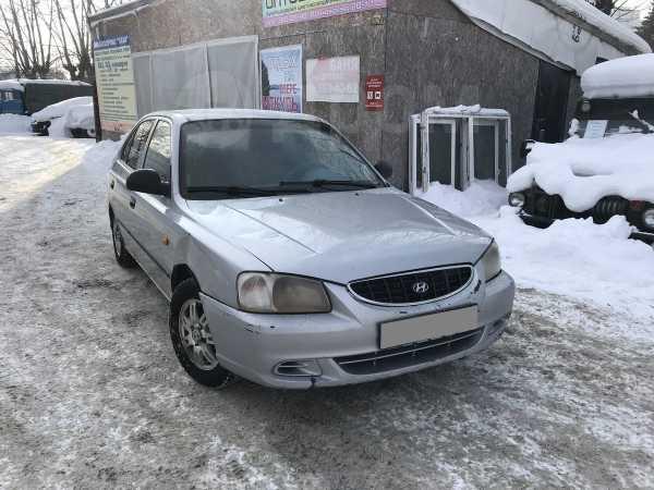 Hyundai Accent, 2004 год, 192 000 руб.