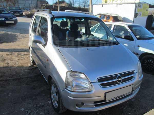 Opel Agila, 2002 год, 155 000 руб.