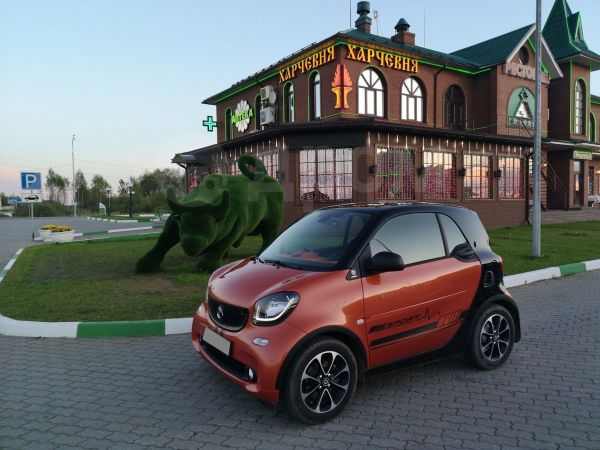 Smart Fortwo, 2016 год, 860 000 руб.