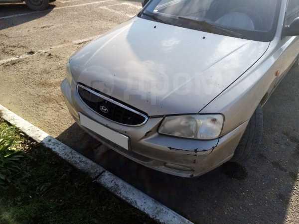 Hyundai Accent, 2004 год, 130 000 руб.
