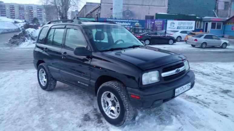 Chevrolet Tracker, 2001 год, 280 000 руб.