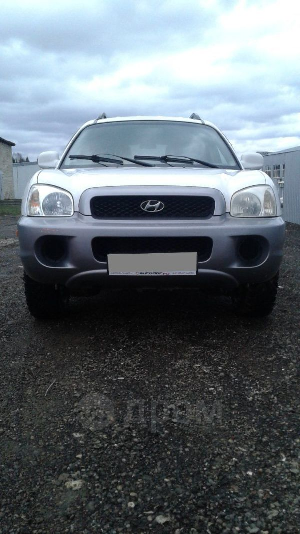 Hyundai Santa Fe Classic, 2001 год, 195 000 руб.