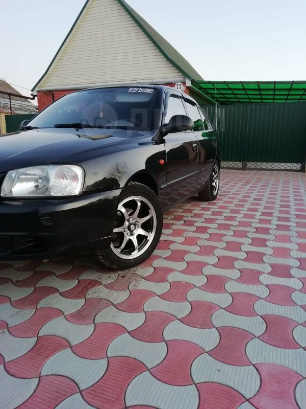 Hyundai Accent, 2007 год, 220 000 руб.