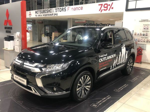 Mitsubishi Outlander, 2019 год, 1 864 000 руб.