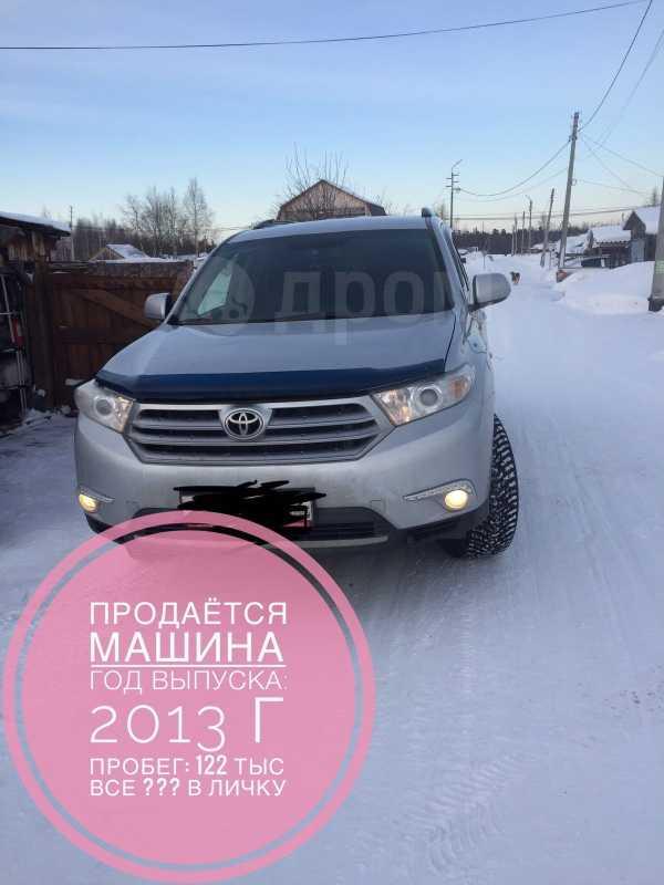 Toyota Highlander, 2013 год, 1 250 000 руб.
