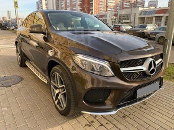 Mercedes-Benz GLE Coupe, 2016 год, 3 299 000 руб.