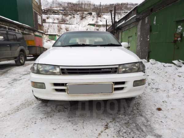 Toyota Carina, 1992 год, 168 000 руб.