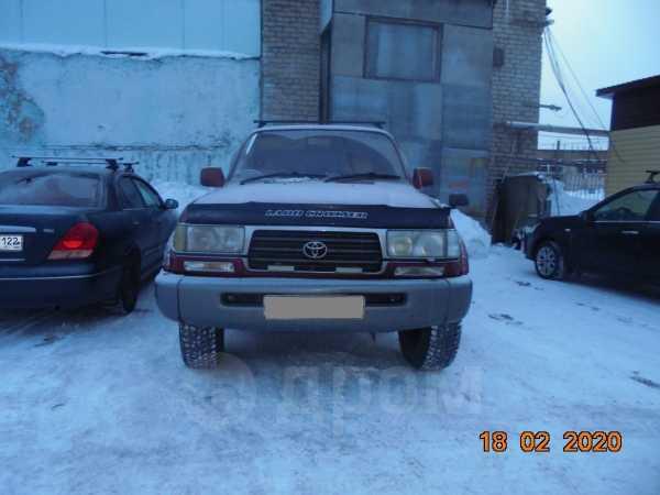 Toyota Land Cruiser, 1997 год, 740 000 руб.