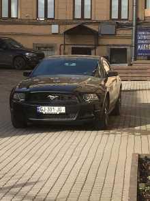 Санкт-Петербург Mustang 2014