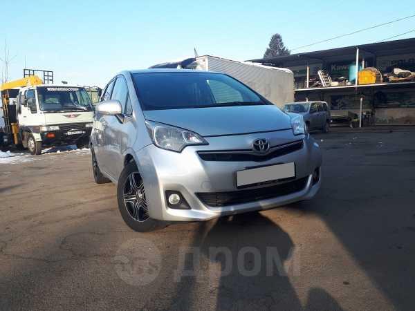 Toyota Ractis, 2011 год, 385 000 руб.