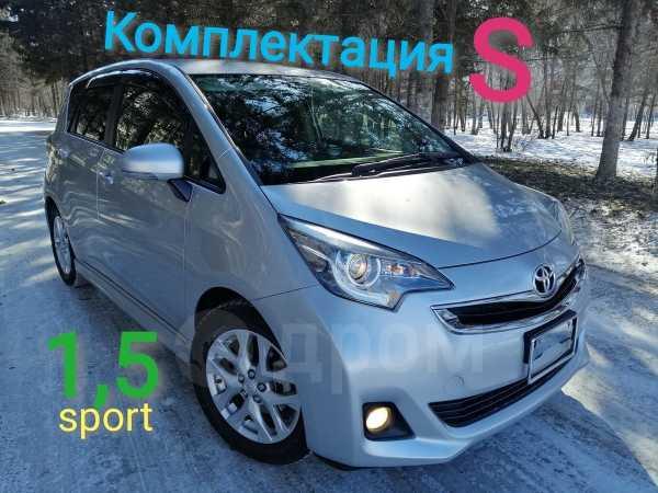 Toyota Ractis, 2015 год, 693 000 руб.