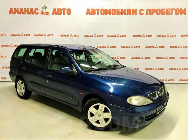Renault Megane, 2001 год, 117 000 руб.
