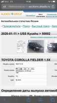Toyota Corolla Fielder, 2011 год, 598 000 руб.