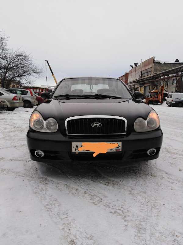 Hyundai Sonata, 2004 год, 230 000 руб.