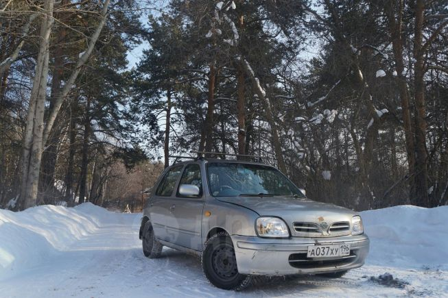 Nissan March, 2001 год, 109 000 руб.