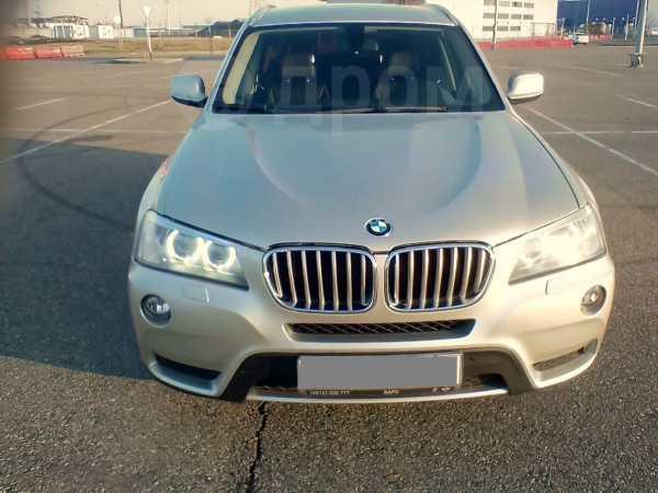 BMW X3, 2012 год, 1 180 000 руб.