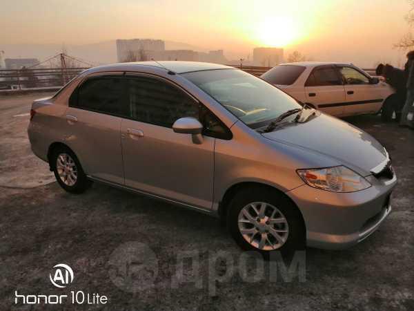 Honda Fit Aria, 2005 год, 280 000 руб.