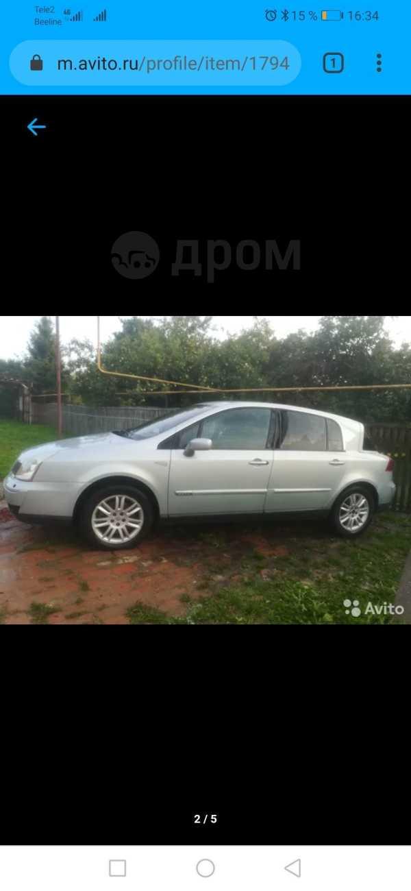 Renault Vel Satis, 2002 год, 250 000 руб.