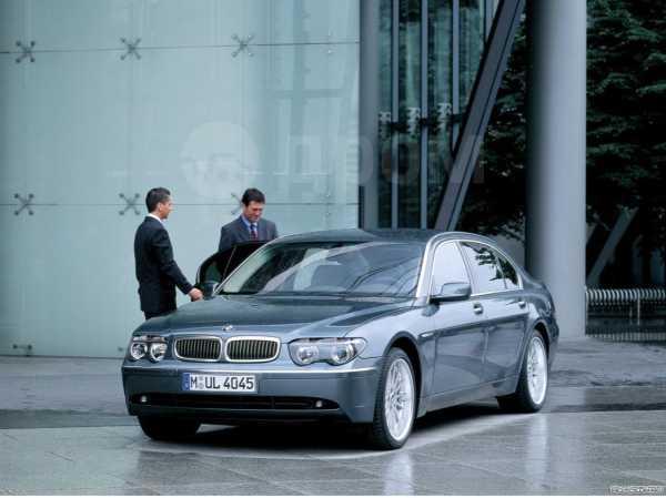 BMW 7-Series, 2002 год, 490 000 руб.