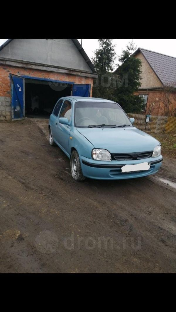 Nissan March, 1998 год, 37 000 руб.