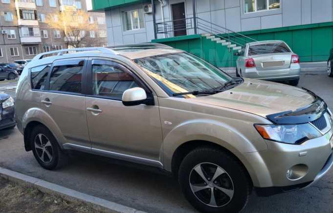 Mitsubishi Outlander, 2008 год, 695 000 руб.