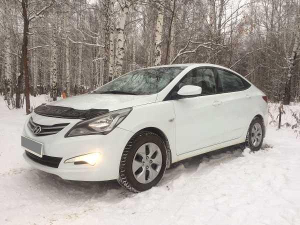 Hyundai Solaris, 2016 год, 463 000 руб.