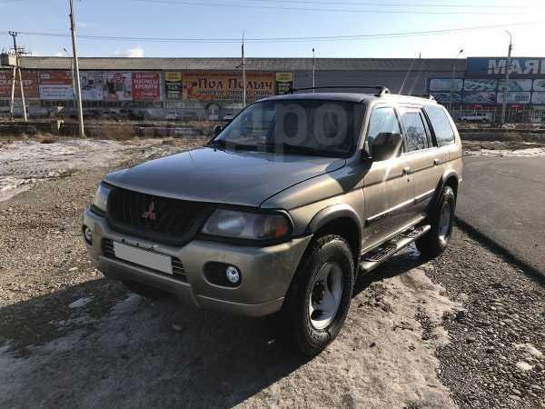 Mitsubishi Montero Sport, 2000 год, 370 000 руб.