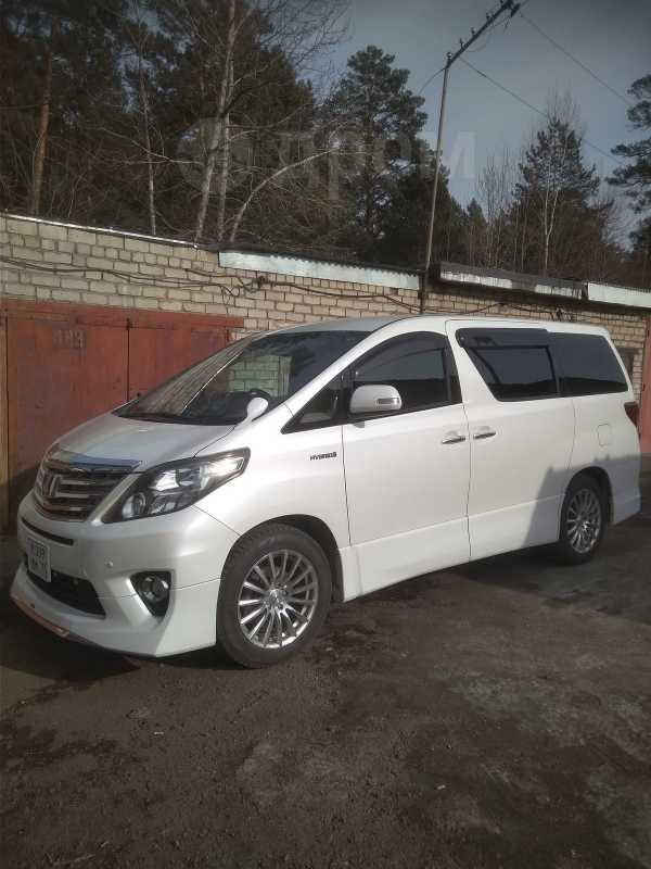 Toyota Alphard, 2012 год, 1 780 000 руб.