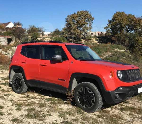 Jeep Renegade, 2016 год, 1 300 000 руб.