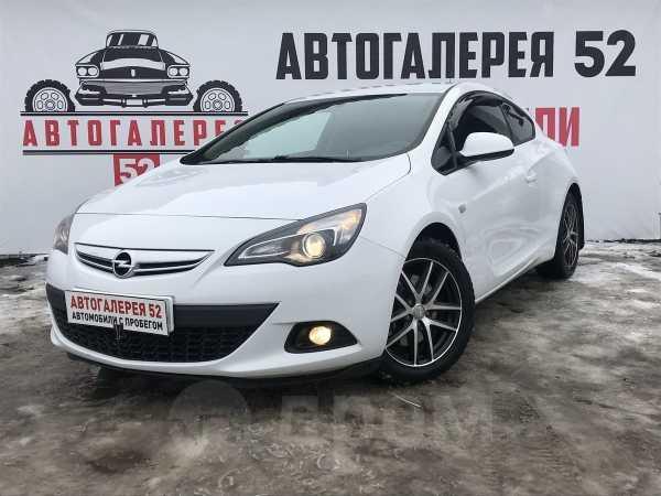 Opel Astra GTC, 2014 год, 619 000 руб.