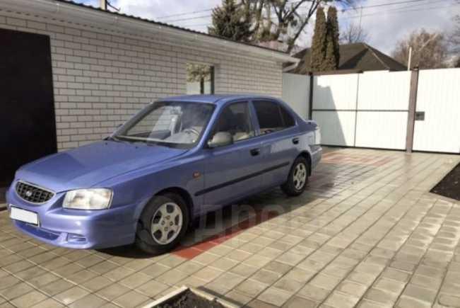 Hyundai Accent, 2005 год, 217 000 руб.