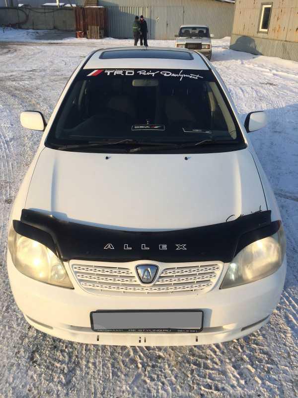 Toyota Allex, 2001 год, 347 000 руб.