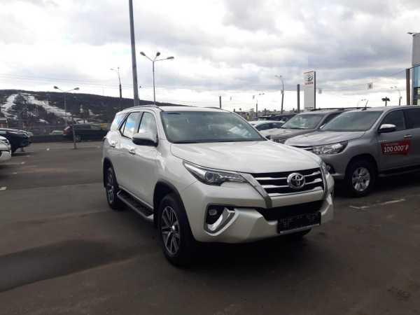 Toyota Fortuner, 2017 год, 2 766 000 руб.