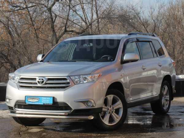 Toyota Highlander, 2013 год, 1 249 000 руб.