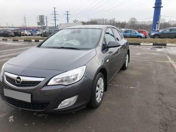 Opel Astra, 2012 год, 399 000 руб.