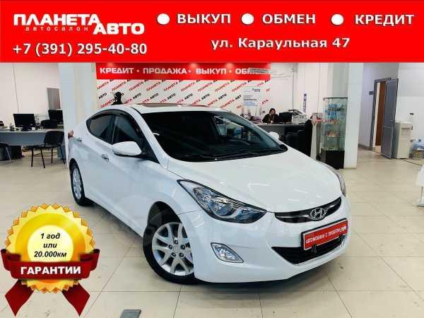 Hyundai Avante, 2011 год, 599 000 руб.