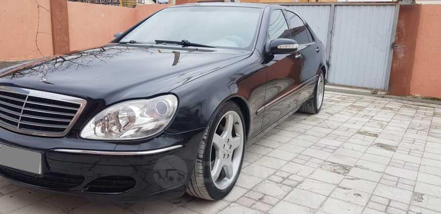 Mercedes-Benz S-Class, 2002 год, 587 000 руб.
