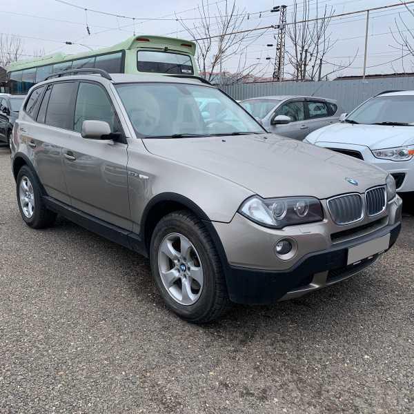 BMW X3, 2007 год, 725 000 руб.