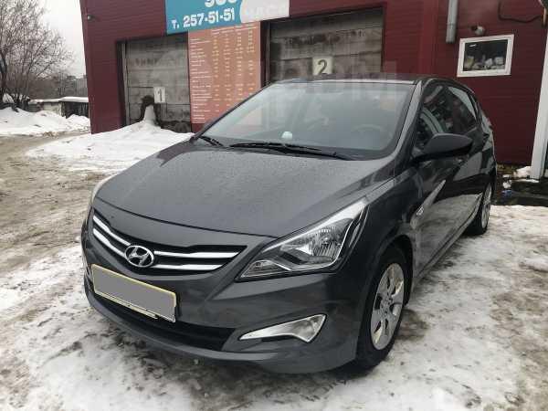 Hyundai Solaris, 2015 год, 310 000 руб.