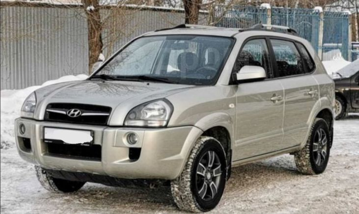 Hyundai Tucson, 2008 год, 619 000 руб.