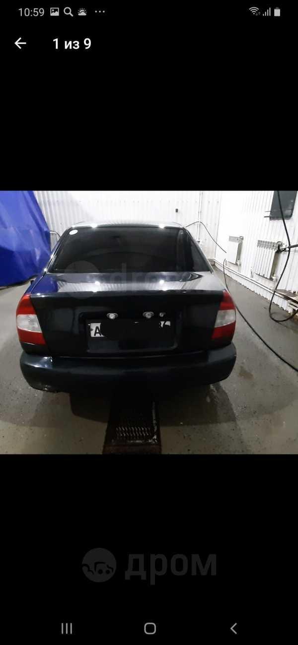 Hyundai Accent, 2005 год, 100 000 руб.