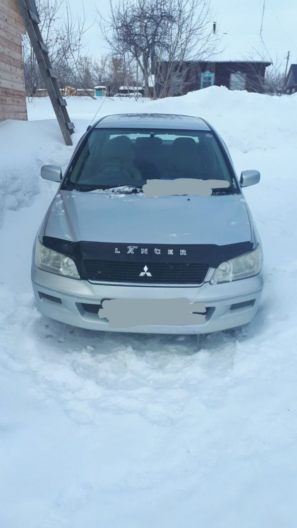 Mitsubishi Lancer Cedia, 2002 год, 130 000 руб.