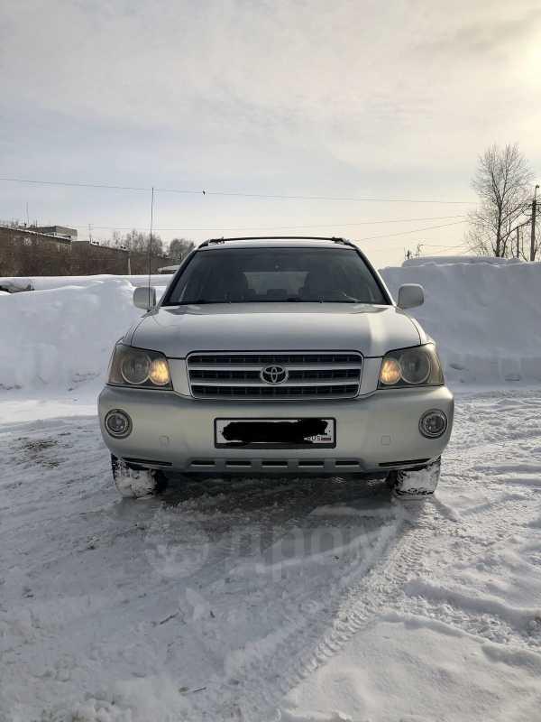 Toyota Highlander, 2002 год, 519 000 руб.