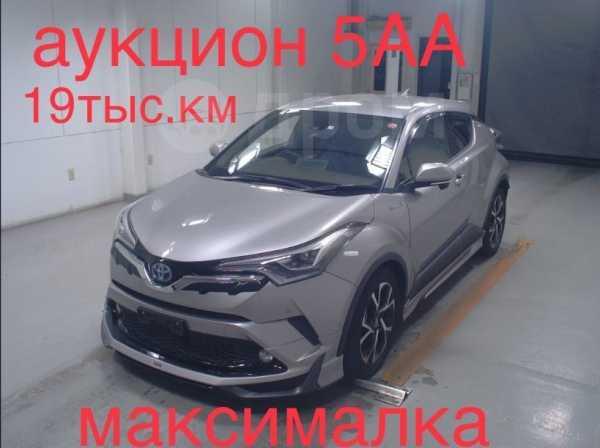 Toyota C-HR, 2017 год, 1 670 000 руб.