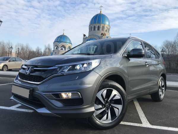 Honda CR-V, 2016 год, 1 639 000 руб.